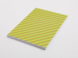 Stripe notebook