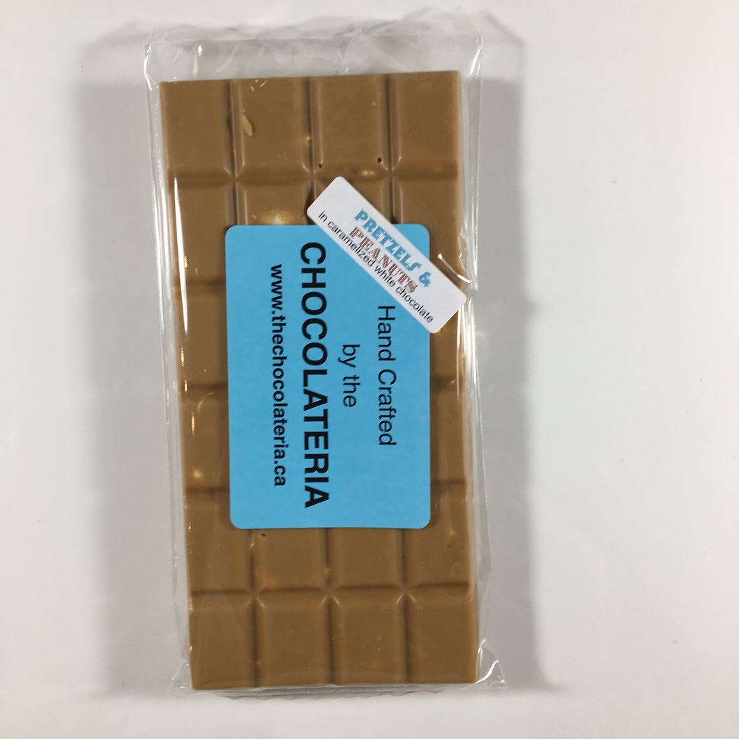Pretzel and Peanut Bars 120g