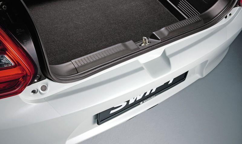 Suzuki Swift Rear Bumper Protection Sheet - Transparent