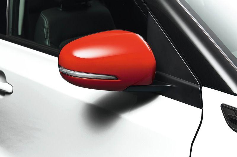 Suzuki Vitara Door Mirror Cover Set Bright Red (without Turn Signal)