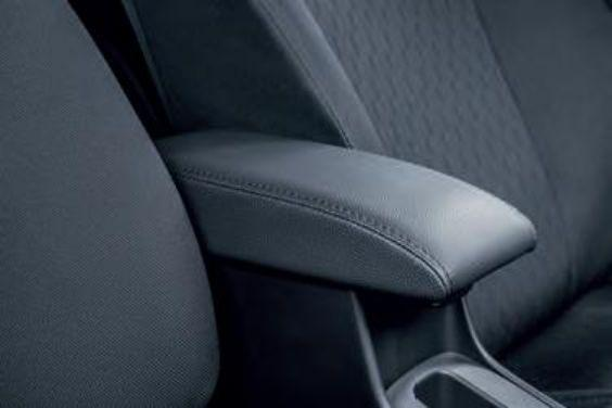 Suzuki Baleno Centre armrest, with storage compartment, black