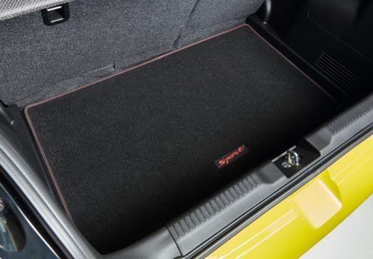 Suzuki Swift Sport Boot Carpet Mat - Anthracite