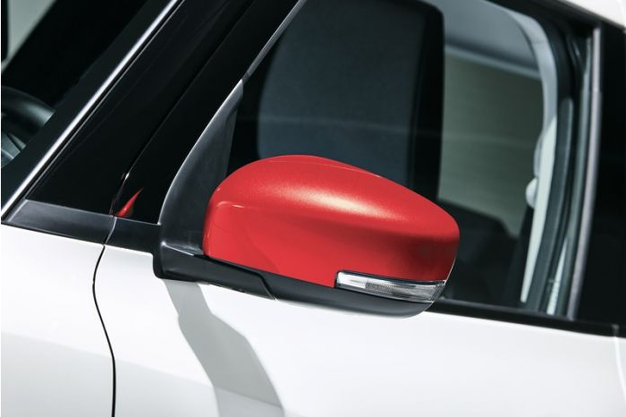 Suzuki Outside Mirror Cover Set - Burning Red Pearl Metallic