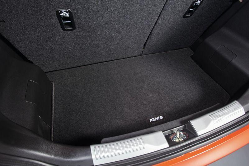 Suzuki Ignis Cargo mat ECO 2WD, fixed seats