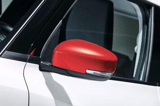 Suzuki Swift Door Mirror Cover RH (without Turn Signal) - Speedy blue