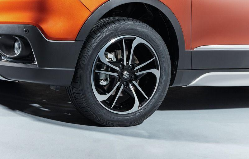 "Suzuki Vitara Alloy Wheel 'Mojave' 6.5Jx17"" - Black & Polished Finish"