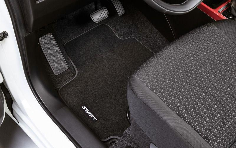 Suzuki Swift 2017 Onwards Carpet mat set, deluxe