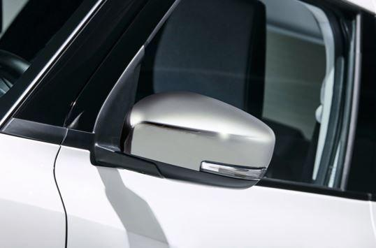 Suzuki Mirror Cover Set - Chrome (without Indicator)
