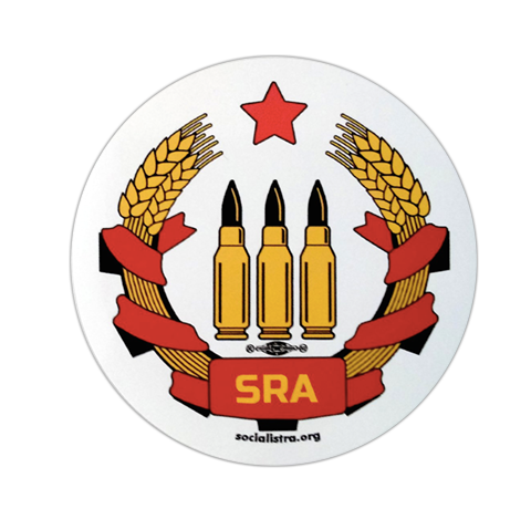 SRA Vinyl Sticker (5-pack)