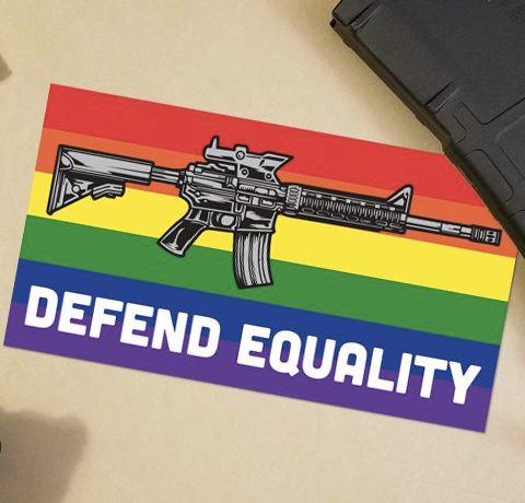 Defend Equality Sticker