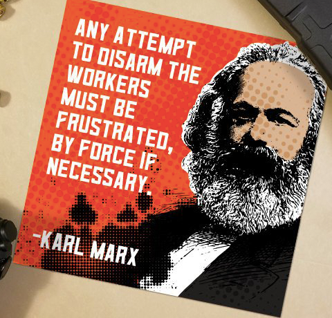 Marx Quote Decal
