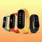 [Support English]Original Xiaomi Mi band 5 1.1 Inch AMOLED Wristband Customized Watch Face 11 Sport Modes Tracker BT5.0 Smart Watch (Black)