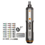 Worx WX240 4V USB Mini Screwdriver Cordless Electric Screwdrivers Hosehold DIY Screw Driver Tool Handle with 26Pcs Bit - onlineoutletuk