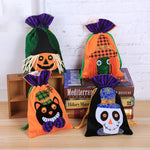 Halloween Children Chocolate Candy Packaging Bag Velvet Gift Bag
