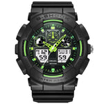 SMAEL 1027 Fashionable Male LED Digital Watch Light Shock Waterproof Sport Watch