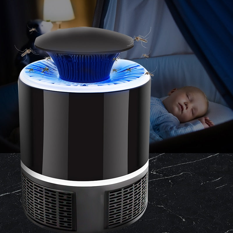 Led Mosquito Killer Electric Mosquito Killer Lamp Mosquito Repellent Mosquito Trap Anti Mosquito Lamp Bug Zapper Insect Killer - onlineoutletuk