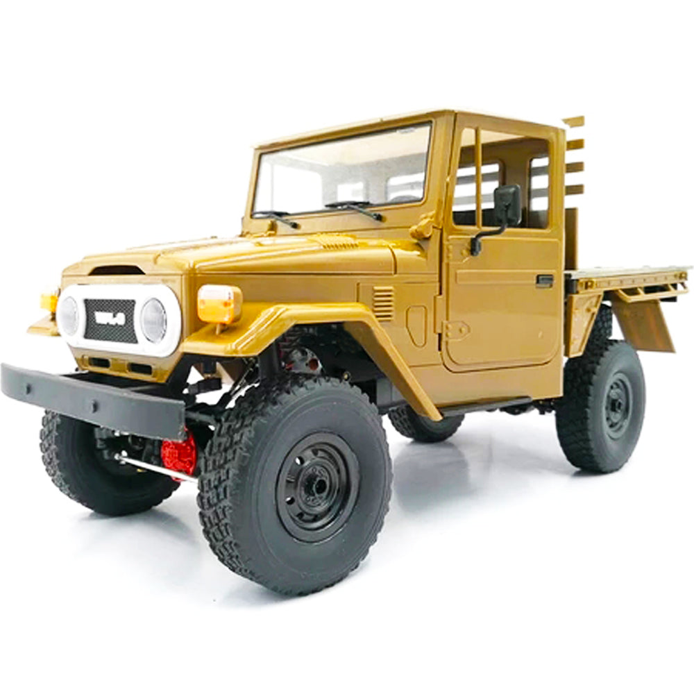 WPL C44KM Metal Edition Unassembled Kit 1/16 4WD RC Car Off-Road Vehicles with Motor Servo - onlineoutletuk