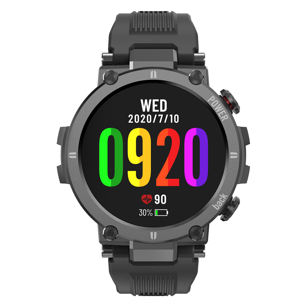 [20 Sport Modes]Kospet Raptor 320*320px Full Touch Rugged Screen 24-hour Heart Rate Monitor 30 Days Standby Multiple Creative UI IP68 Waterproof Outdoor Smart Watch - onlineoutletuk