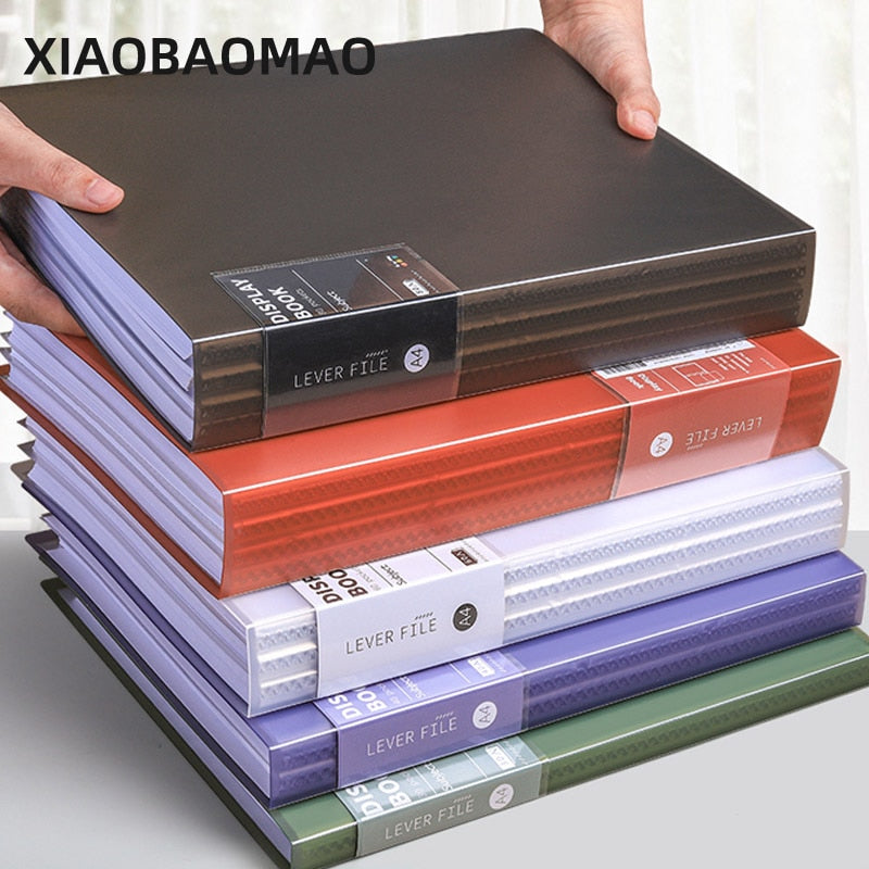 30 40 60 80 Pages A4 Size Piano Music Score Sheet Document File Folder Storage Organizer PP Frosted Folder