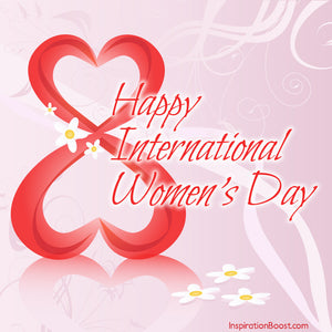 Pica LéLa wishing every woman 'Happy Women's Day'!