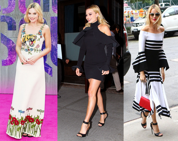 Margot Robbie's Top Looks from the Suicide Squad Press Tour