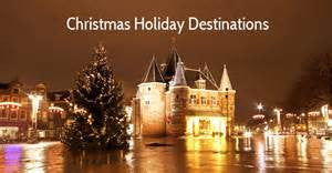 Pica LéLa's Top 5 Christmas Holiday Destinations