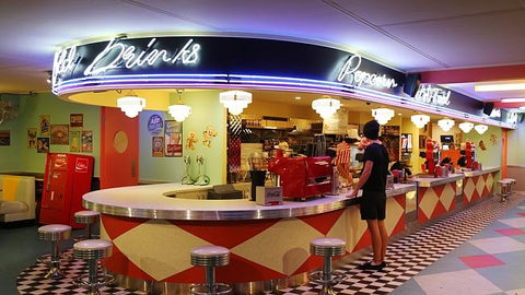 50s diner, drive in cinemas, blacktown, sydney, things to do