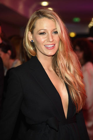 blake lively in salvatore ferragamo