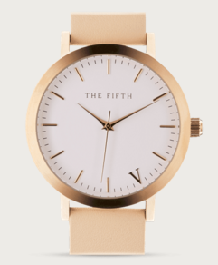 watch , rose gold , the fifth , minimal , pink