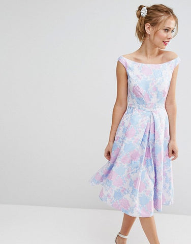 Floral Dress for Races