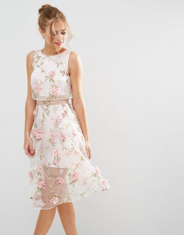 Floral Dress for Spring Races