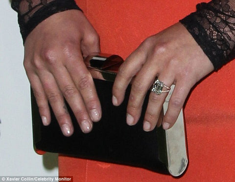 hayden panettiere rose gold engagement ring