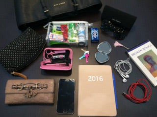 whats in my bag, sneak peek