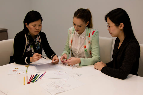 Pica LeLa Jewellery Team Behind The Scenes Utopia Collection