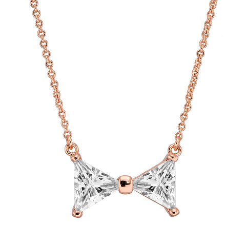 Pica LeLa Bow Ribbon Love Necklace