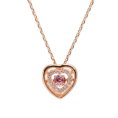 Enchanted Juliet Heart Necklace