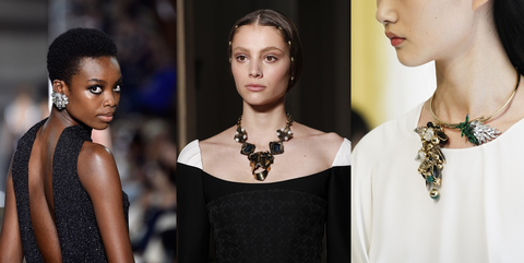 autumn winter couture shows - jewellery pieces
