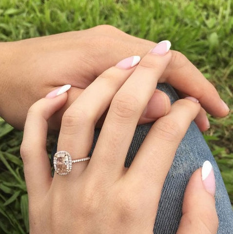 Our Top Celebrity Rose Gold Engagement Rings