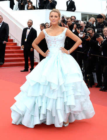 blake lively in vivienne westwood , cinderella dress