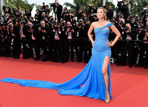 blake lively in versave elsa dress