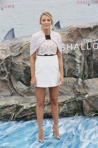 blake lively in  Giambattista Valli dress