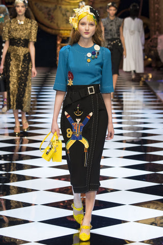 disney dolce and gabbana , fall fashion week