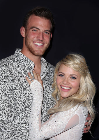 WITNEY CARSON AND FIANCE