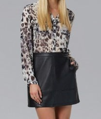 Animal print , shirt , work wear , leopard