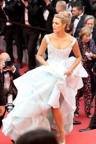 balke lively in vivienne westwood dress, cinderella