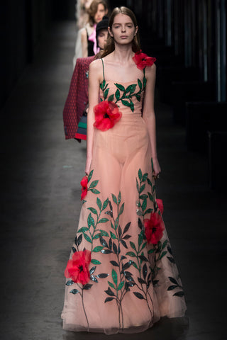 Gucci, fall fashion week , floral