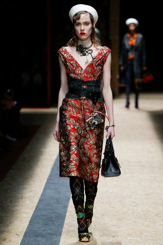 prada , fall fashion week , statement , necklace