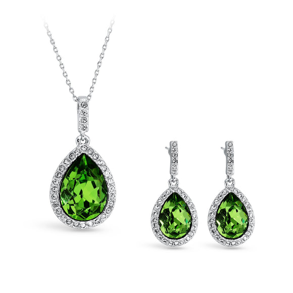 Royal Peridot Jewellery Set