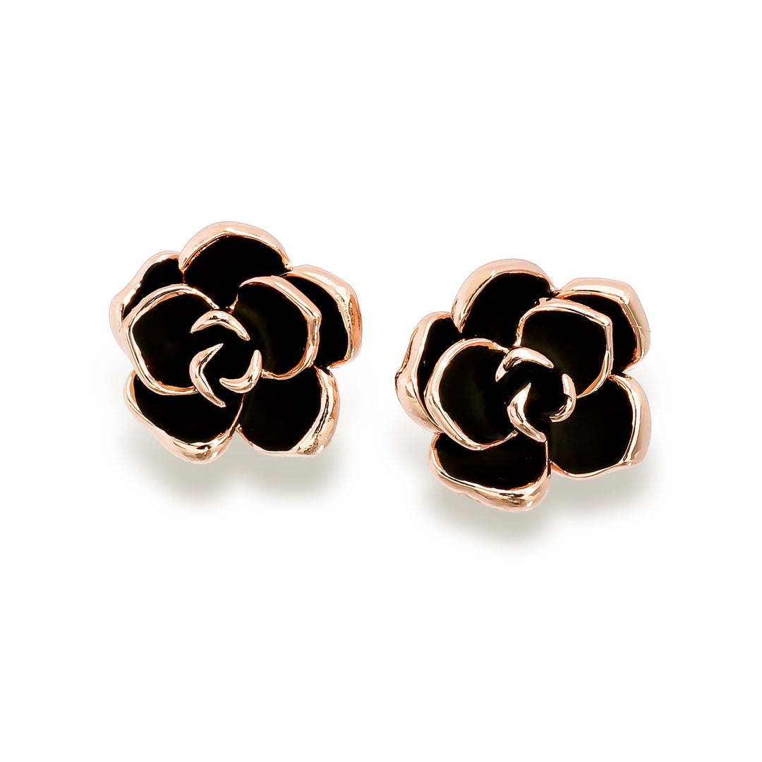 Royal Rose Earrings