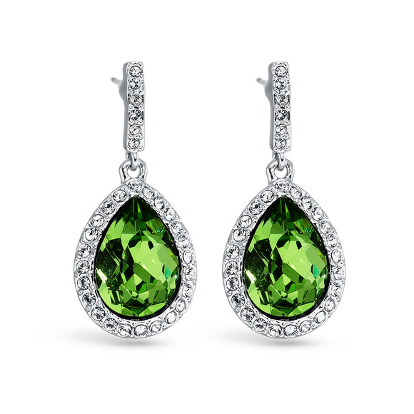 Royal Peridot Earrings